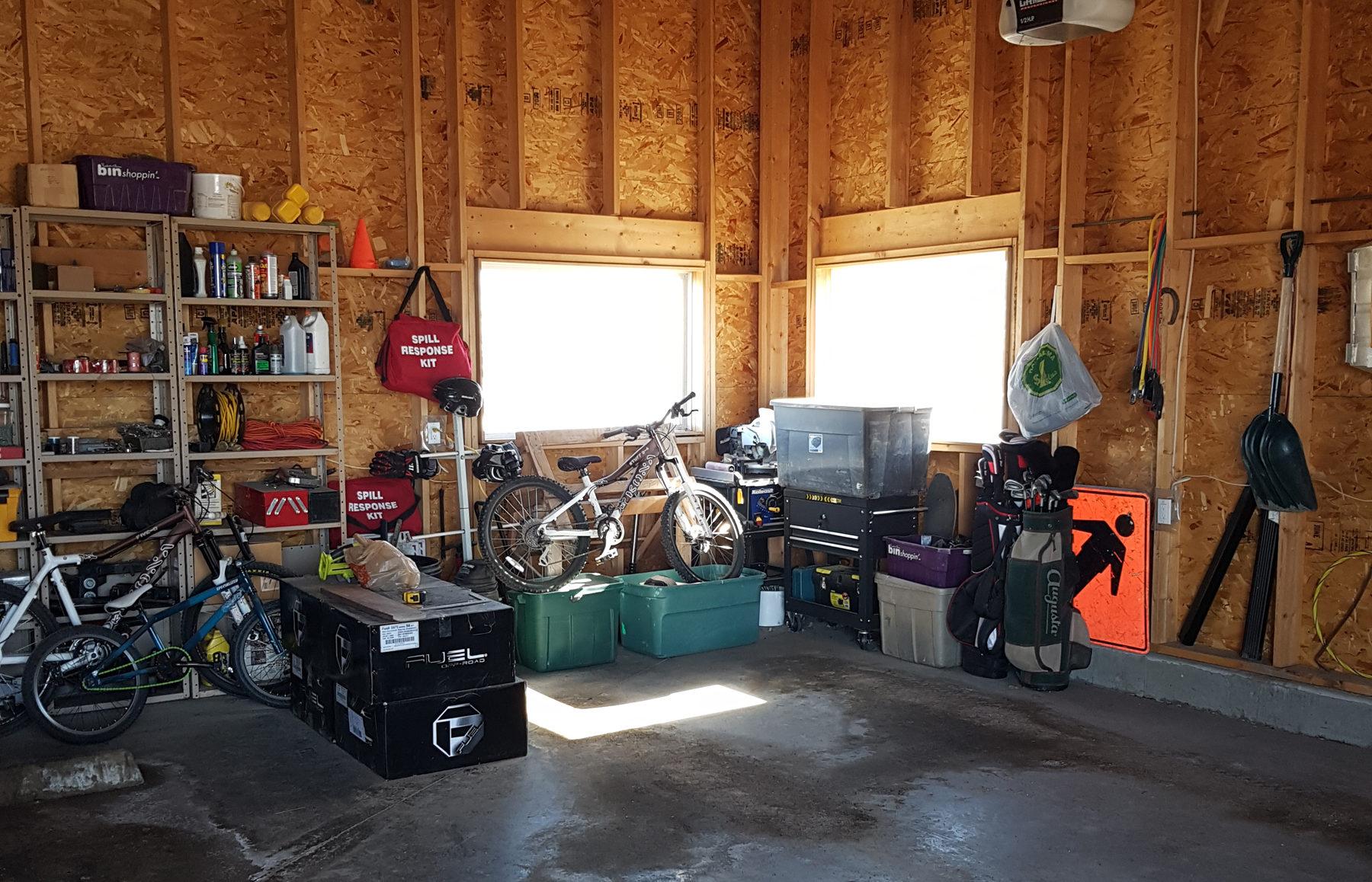 Garage Workspace Renovation